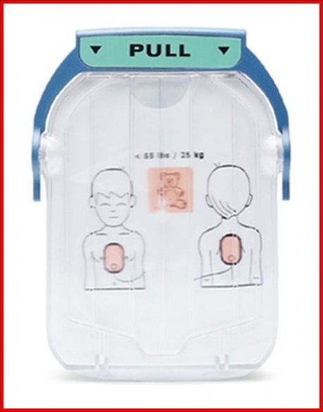 Philips PHILIPS HEARTSTART FIRST AID/HS1 TRAINING PADS + CART. CHILD