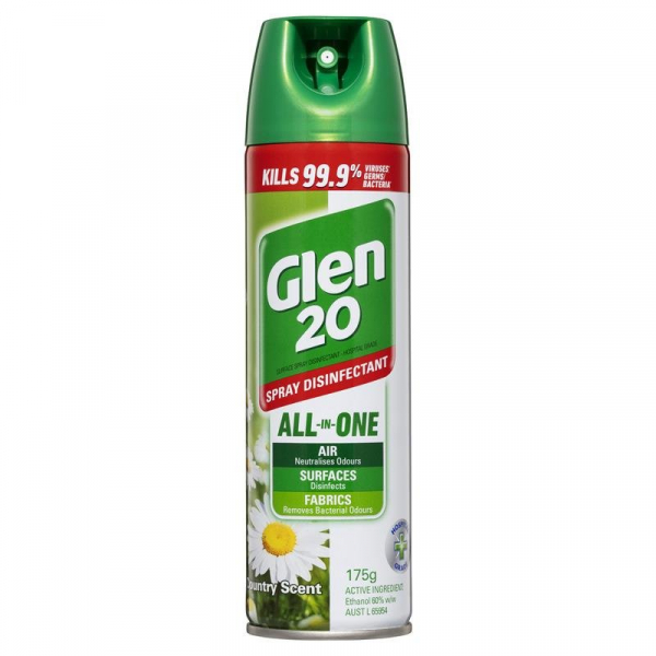 Reckitt Benckiser DETTOL GLEN 20 SPRAY COUNTRY SCENT 300g