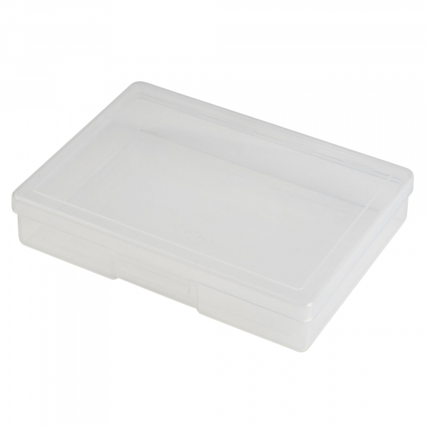 Uneedit F.A.KIT: CASE PLASTIC FISCHER CLEAR A6 X-SMALL
