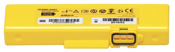 Defibtech DEFIBTECH DEFIBRILLATOR BATTERY 4 YEAR Suits: VIEW/ECG/PRO AEDs