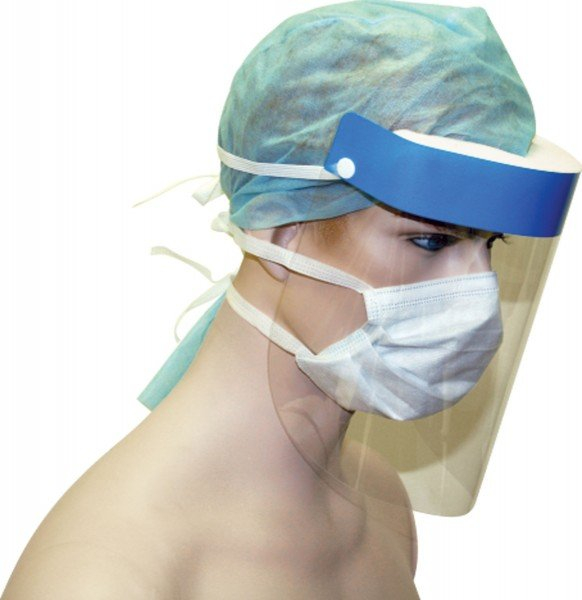 Sentry Medical MASK SURGICAL: SENTRY CLEAR VISOR  **Single