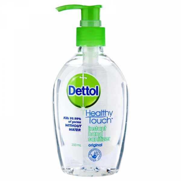 Reckitt Benckiser DETTOL HAND SANITISER PUMP PACK 200mL