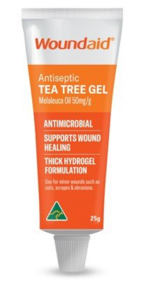 Mundipharma MUNDICARE WOUNDAID ANTISEPTIC TEA TREE GEL 25g