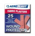 AEROPLAST FABRIC STRIPS 25  RED AFP50125