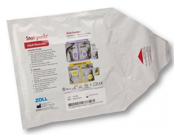 Zoll ZOLL DEFIBRILLATOR STAT PADZ ADULT MULTIFUNCTION FOR E, M & R SERIES
