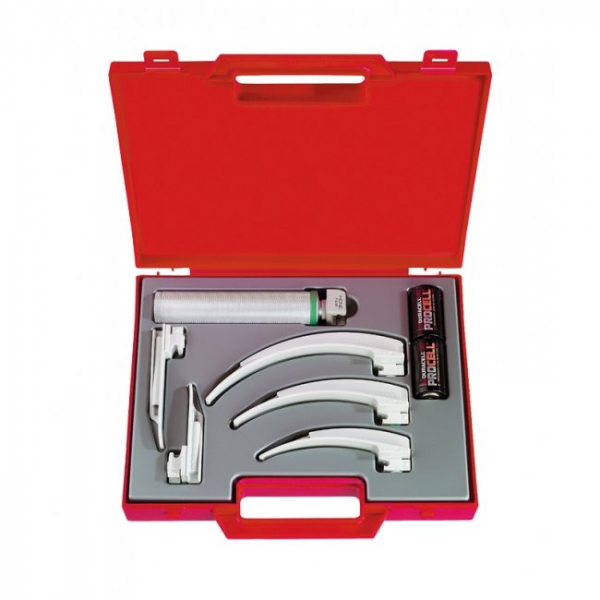 Heine LARYNGOSCOPE SET HEINE XP WITH DISPOSABLE BLADES