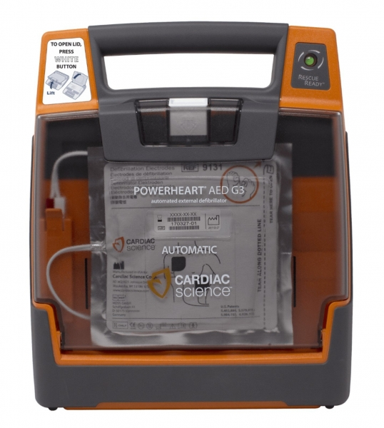 Cardiac Science POWERHEART DEFIBRILLATOR G3 ELITE FULLY AUTOMATIC