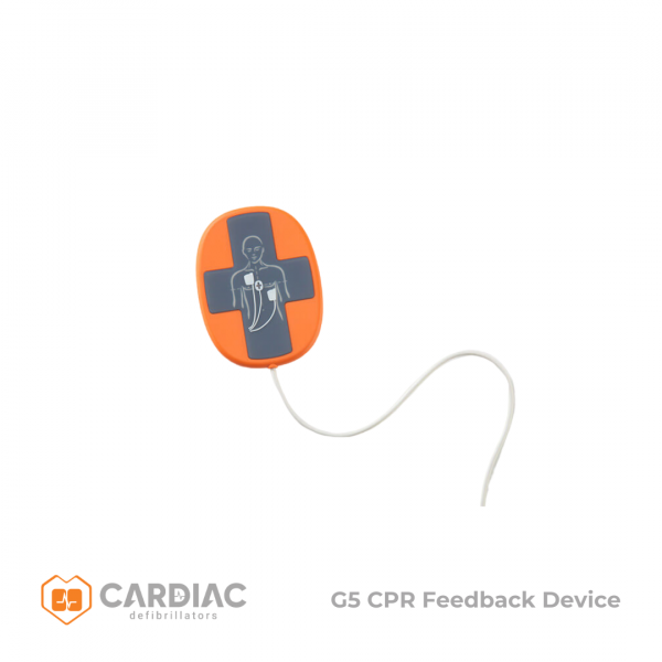 Cardiac Science POWERHEART DEFIBRILLATOR G5 ADULT PADS with CPR DEVICE