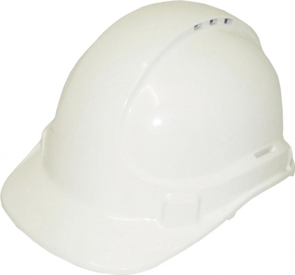 3M Aust HAT: HARD SAFETY 3M SCOTT TA570 VENTED (TYPE 1) 6PT WHITE