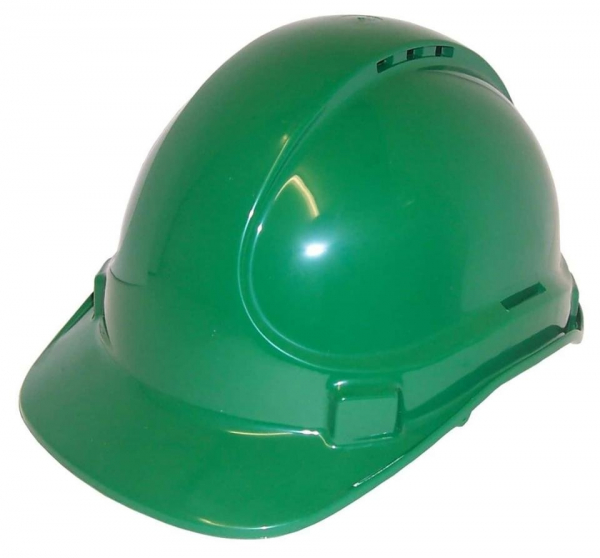 3M Aust HAT: HARD SAFETY 3M SCOTT TA570 VENTED (TYPE 1) 6PT GREEN