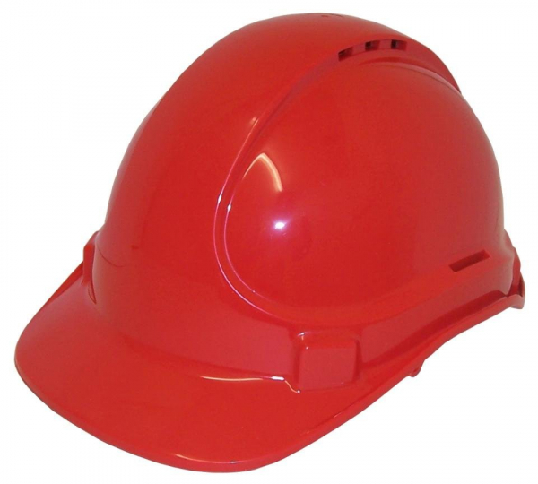 3M Aust HAT: HARD SAFETY 3M SCOTT TA570 VENTED (TYPE 1) 6PT RED