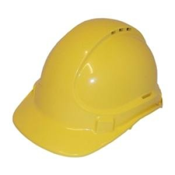 3M Aust HAT: HARD SAFETY 3M SCOTT TA570 VENTED (TYPE 1) 6PT YELLOW