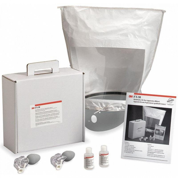 3M Aust RESPIRATOR: 3M FIT TEST QUALITATIVE APPARATUS KIT BITTER 1/CASE (Bitrex)