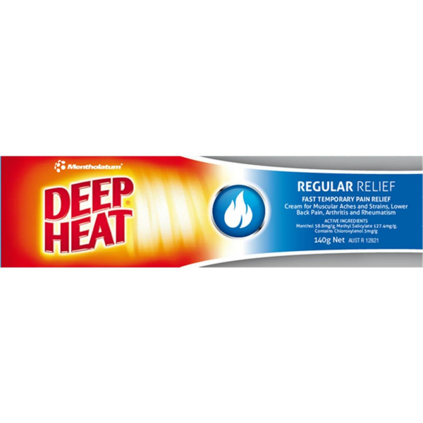 Mentholatum DEEP HEAT CREAM 140g