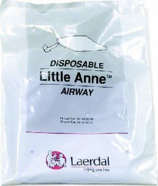 Laerdal LAERDAL MANIKIN CPR AIRWAY LITTLE ANNE (24 Pieces)