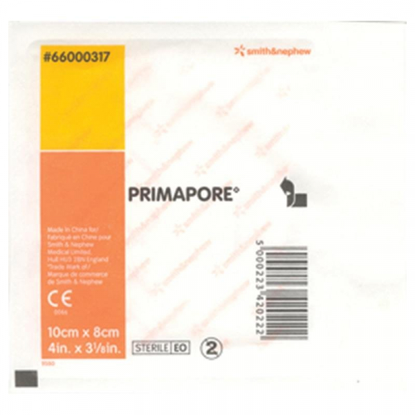 Smith & Nephew PRIMAPORE DRESSING 10cm x 8cm  Single
