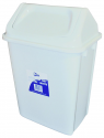 BIN SWING TOP TIDY WHITE 30L E19344