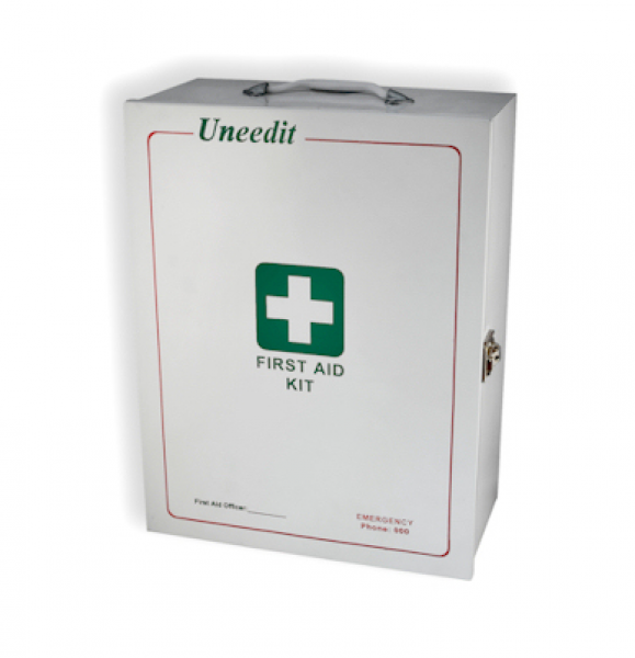 Uneedit F.A.KIT: CASE METAL 7U UPRIGHT with POUCH