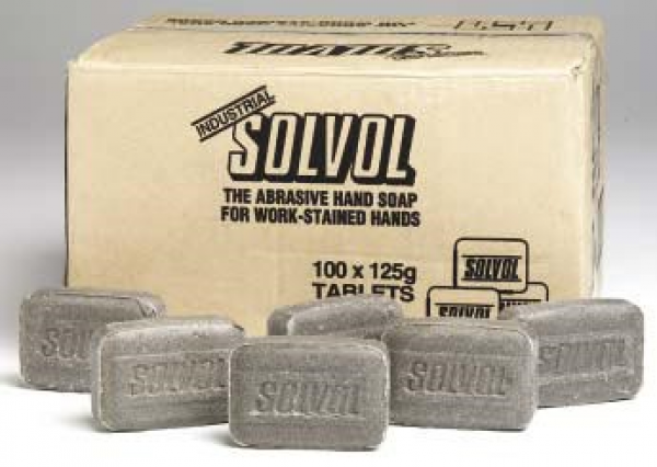 WD40 Company SOAP: SOLVOL INDUSTRIAL UNWRAPPED 100gm  100