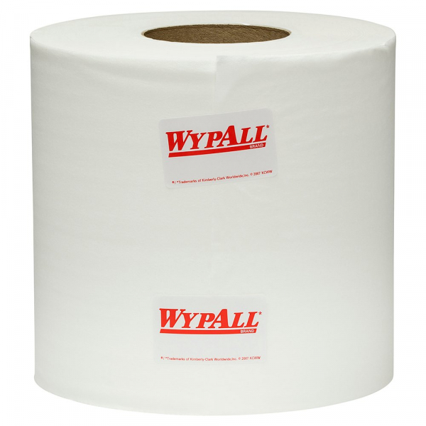 Kimberly Clark WYPALL L10 CENTREFEED REGULAR DUTY WIPERS 1ply  4 Rolls
