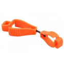 IND GLOVE: BELT CLIP - GLOVE KEEPER FLURO ORANGE - Hold Ind. Glove on clip to belt GBC-CG