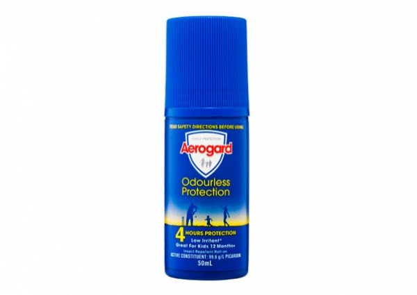 Reckitt Benckiser AEROGARD ODOURLESS ROLL ON 50mL